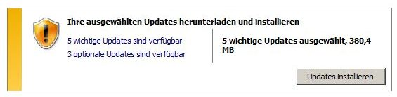 Windows 7 Sicherheitsupdate Support-Ende